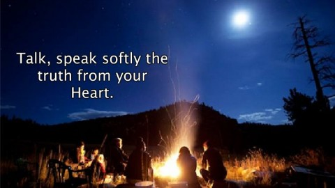 Speak Softly The Truth From Your Heart