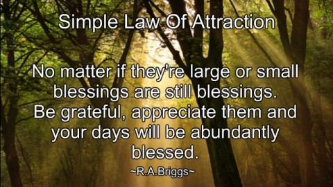 ~ Count Your Blessings ~