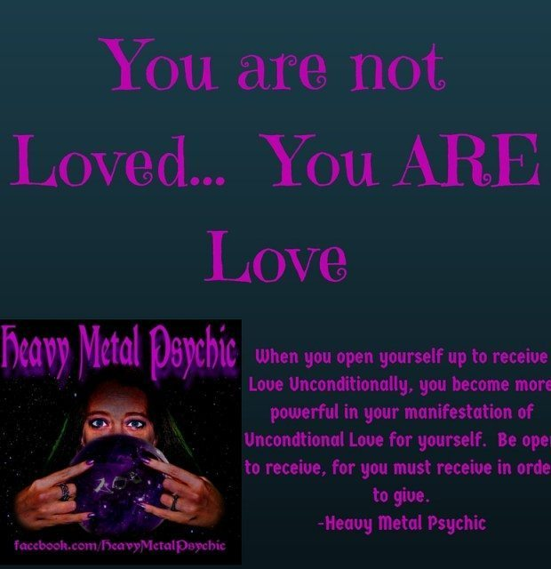 You are not Loved